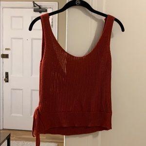 Lulus Wrap Sweater Top
